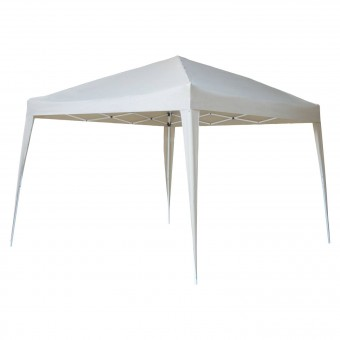 Tente de réception ZEPHYR pliante 3 × 3m Beige