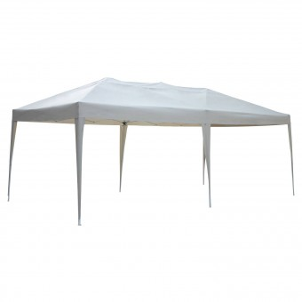 Tente de réception ZEPHYR pliante 3 × 6m Beige
