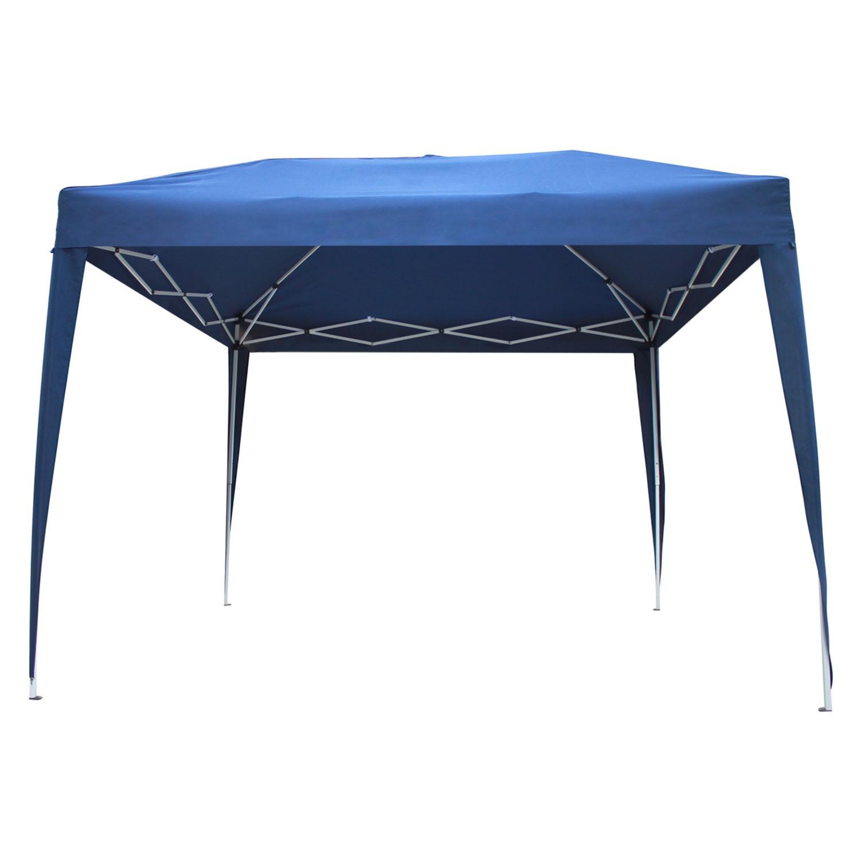 Tente de réception ZÉPHYR pliante 3x3m Bleu