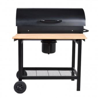 Barbecue au charbon de bois à cuve cylindrique PASADENA