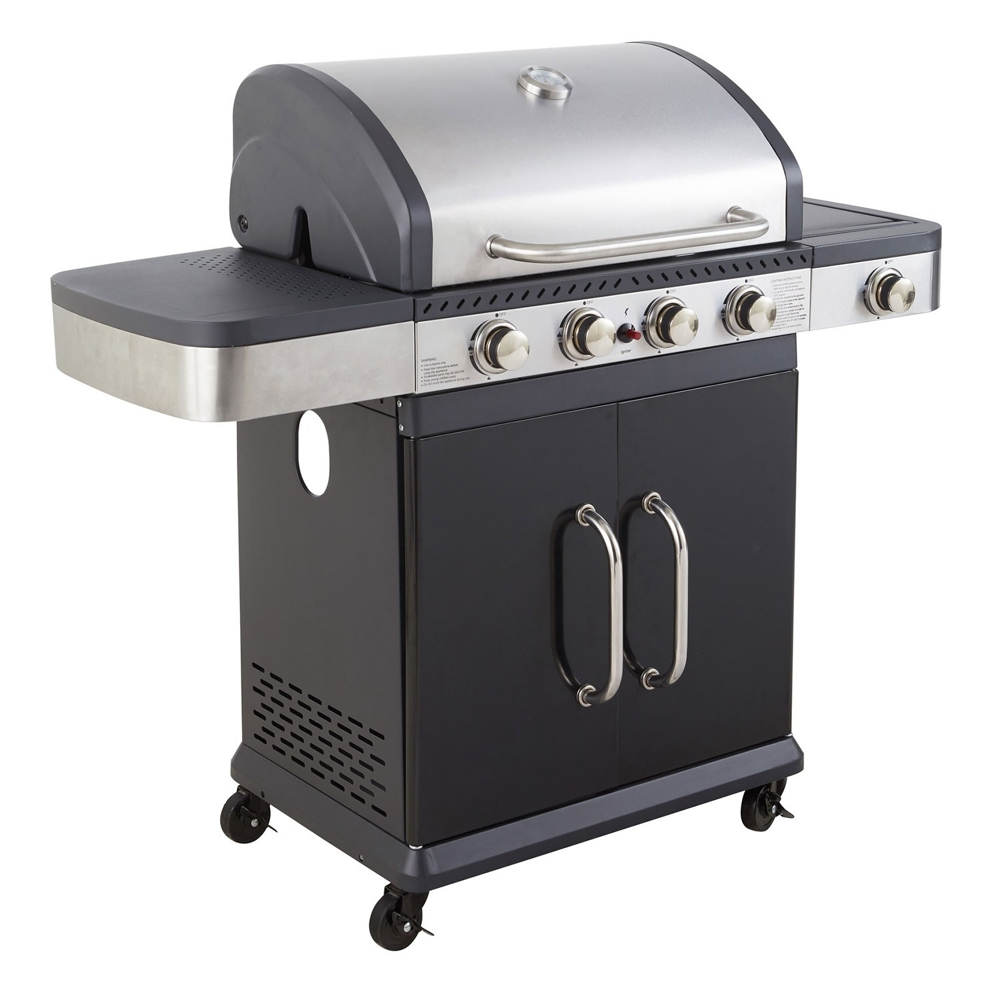 Barbecue gaz FIDGI 4+1 brûleurs