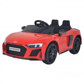 Voiture électrique AUDI R8 SPYDER - rouge