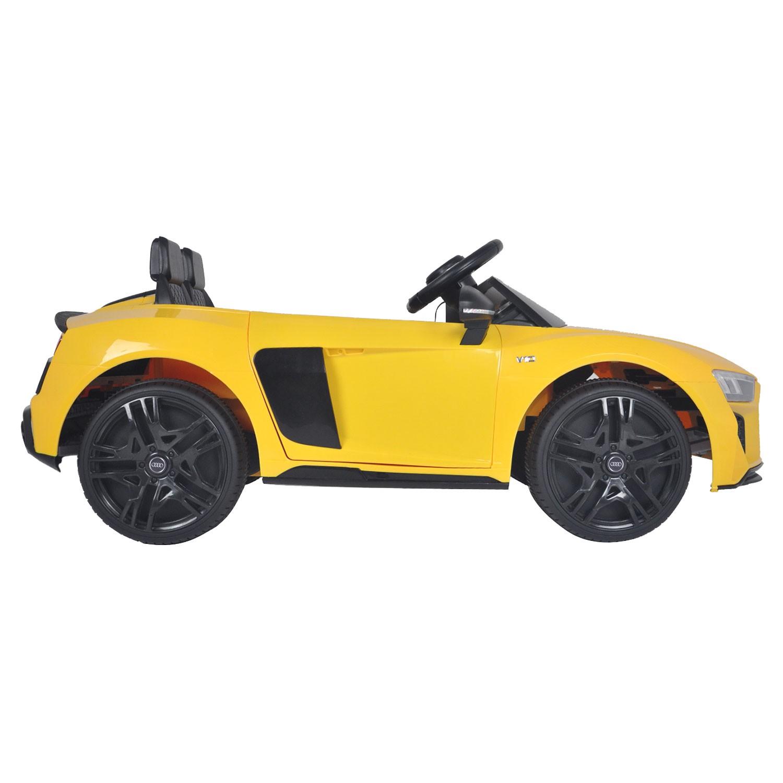 Voiture électrique AUDI R8 SPYDER - jaune