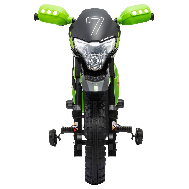 Motocross électrique TRAVIS - verte