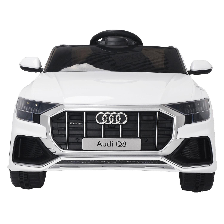 Voiture électrique AUDI Q8 - blanche