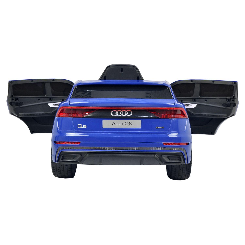 Voiture électrique AUDI Q8 - bleue
