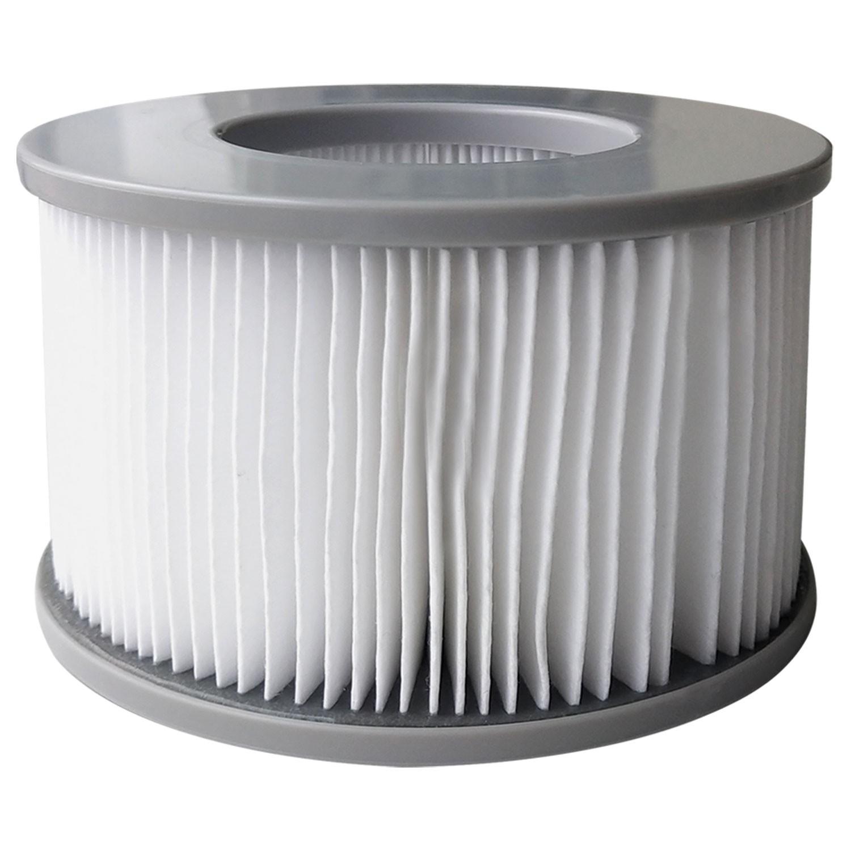 gonflable papier filtre poly multicouche 4 pi/èces JXING Cartouche filtrante de rechange pour Mspa filtre pour piscine filtre pour piscine