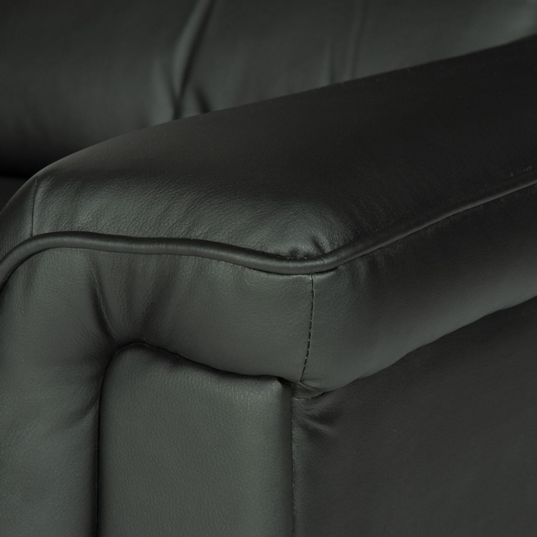 Fauteuil électrique inclinable BERNIE noir