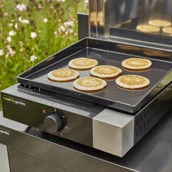 Cook'in Garden - Plancha électrique + capot fonte FINESTA - 2,5kW
