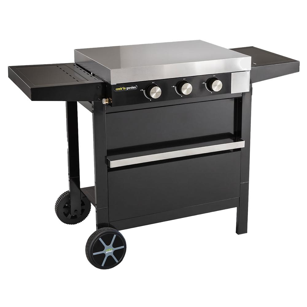 Cook'in Garden - Plancha à gaz fonte FINESTA - 6kW