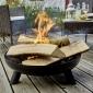 Cook'in Garden - Brasero acier JUNTO