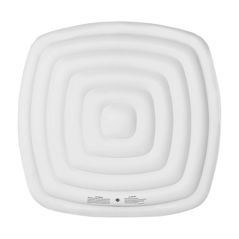 Couvercle gonflable isolant pour spa gonflable carré 4 places MSPA