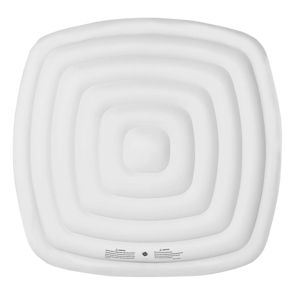 Couvercle gonflable isolant pour spa gonflable carré 6 places MSPA