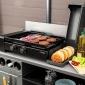Somagic - Plancha au gaz spécial burger - 5,6kW