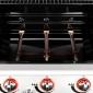 SOMAGIC - Barbecue au gaz MANHATTAN 300S - 3 brûleurs 10,5kW