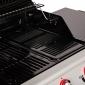 SOMAGIC - Barbecue au gaz MANHATTAN 450GPI - 4 brûleurs + réchaud 14kW