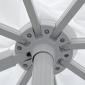 Parasol déporté MOLOKAI rectangulaire 3x4m blanc