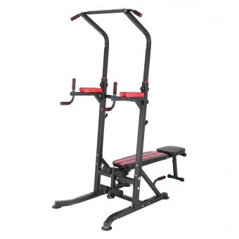 Chaise romaine multifonction avec banc de musculation FORCE