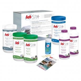 Kit de traitement au chlore HTH pour spa gonflable