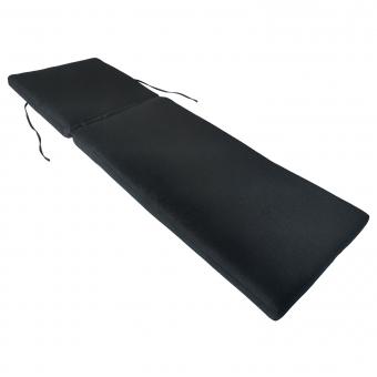 Coussin de bain de soleil - anthracite 190 × 60cm