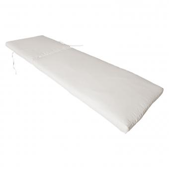 Coussin de bain de soleil - beige 190 × 60cm