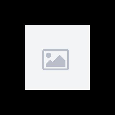 Set bain de soleil et table d'appoint BARBADOS en textilène bleu - aluminium blanc