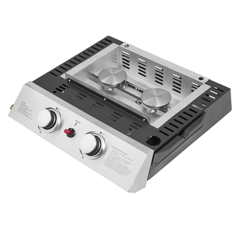 Plancha au gaz MALAGA - 2 brûleurs 5kW